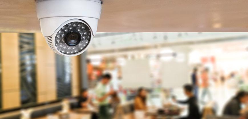 Kameraövervakning i butiker och offentliga rum