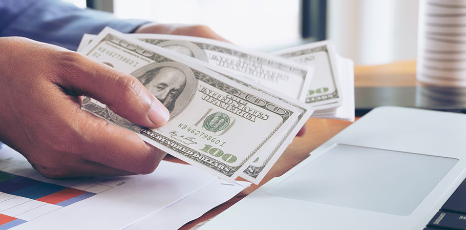 Vad anges i en ansökan om kreditlån?
